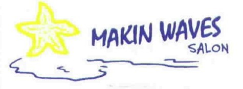 Makin' Waves Salon Logo
