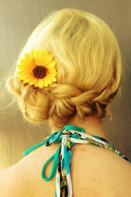 Braid and Sunflower